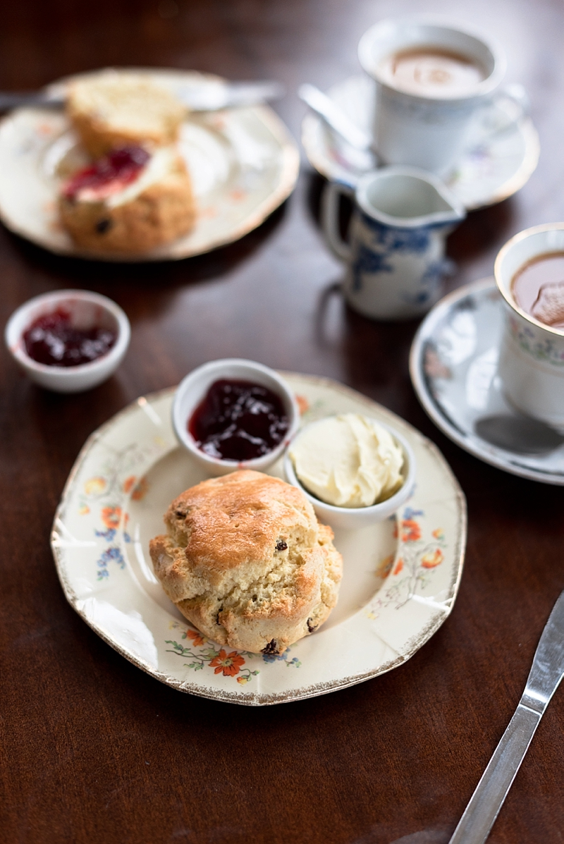 Gluten free cream tea at the Needles Old Battery in a 1940s inspired tea room perfect for a romantic afternoon on Isle of Wight