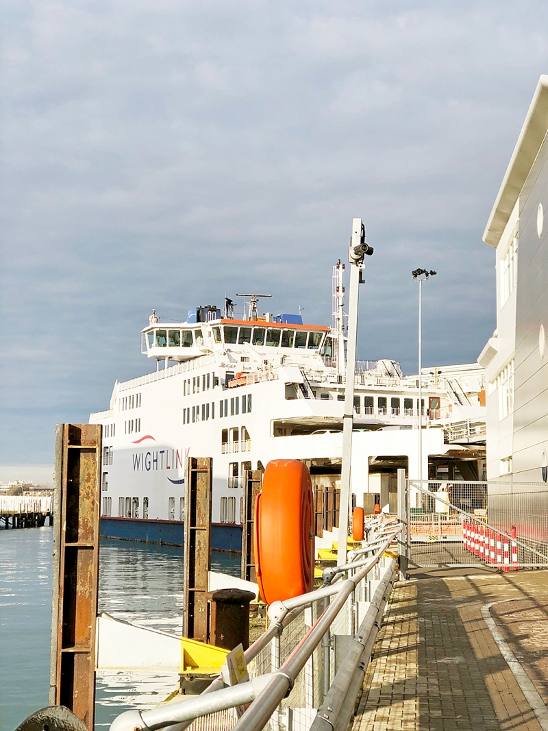 WightLink Ferries for the most affordable and reliable ferry to get to Isle of Wight England out of Portsmouth