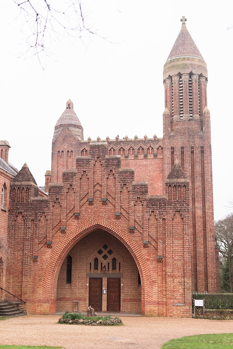 Quarr Abbey in Ryde on Isle of Wight for cream team and an active monastery experience